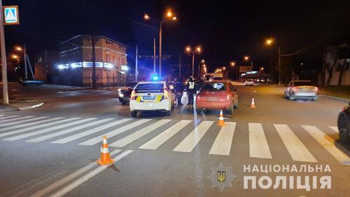 В Харькове автомобиль наехал на ребенка
