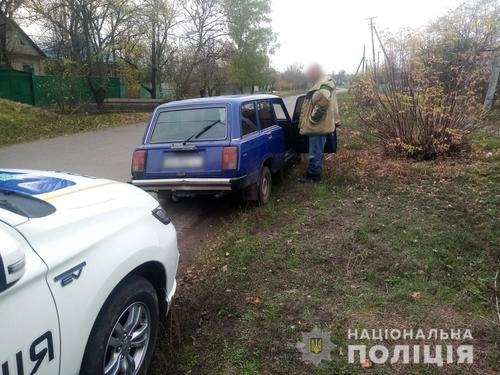 Погоню устроили в Харьковской области (фото)