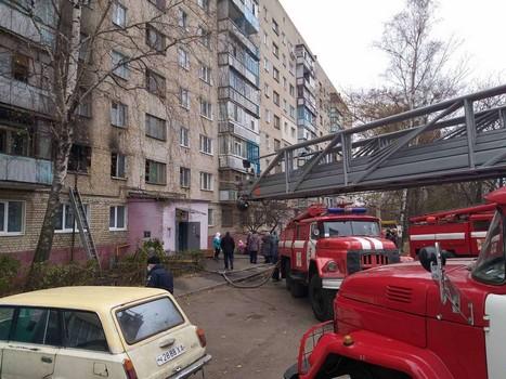 ЧП в Харькове: люди оказались в ловушке в своих квартирах (фото)
