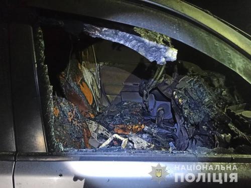 В Харьковской области разыскивают поджигателя (фото)