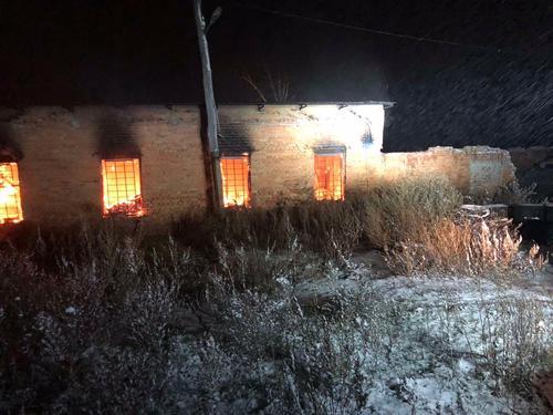 В Харьковской области сгорело предприятие