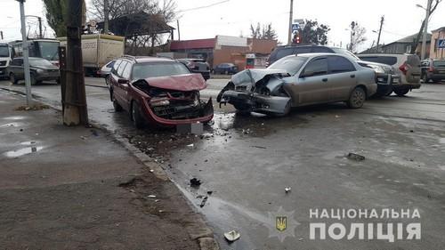Авария в Харькове: ребенка увезли в больницу