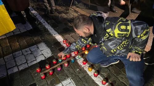 В центре Харькова состоялась акция памяти (фото, видео)