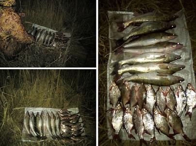В Харьковской области у мужчины отобрали улов