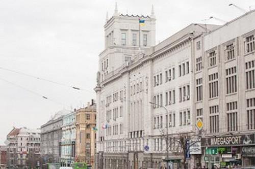 Первая сессия Харьковского горсовета: депутаты заблокировали трибуну