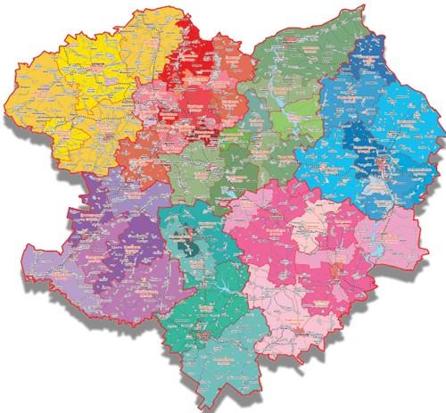 На Харьковщине новосозданным громадам предстоит поделить имущество
