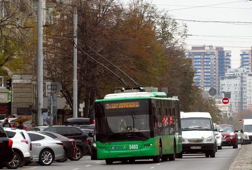 Еще один троллейбусный маршрут хотят продлить в Харькове