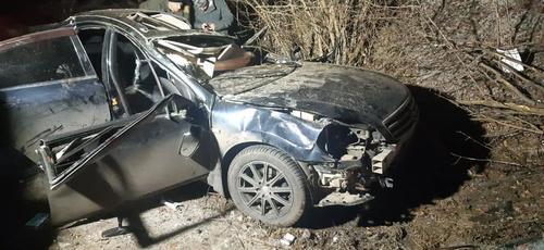 В Харькове автомобиль разбился вдребезги: погиб мужчина (фото)