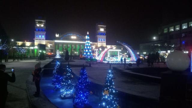 Харьков встречает гостей новогодними чудесами (фото, видео)