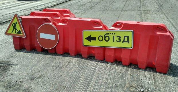 В Харькове на месяц продлили перекрытие улицы