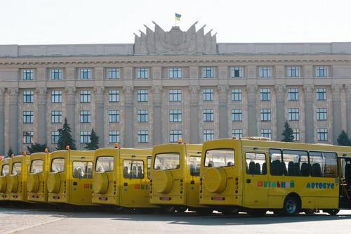 Школам Харьковщины пообещали новый транспорт