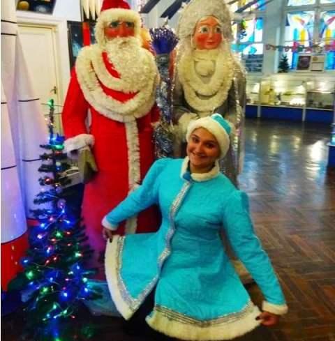 Снегурочка из Харькова легко справляется с мужскими капризами (фото)