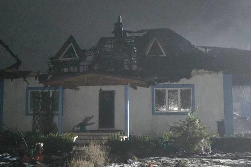 В новогоднюю ночь жители Харьковщины остались без крыши над головой (фото)