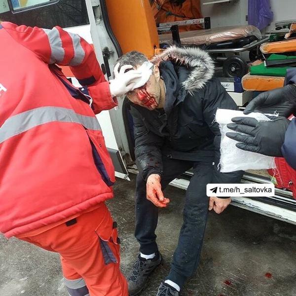 В Харькове мужчина упал с высоты и выжил