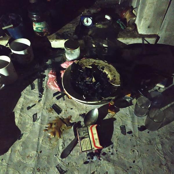 Три человека погибли в доме под Харьковом (фото)