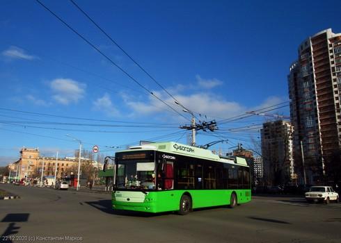 В Харькове возобновили популярный троллейбусный маршрут