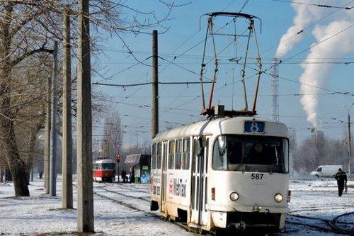 В Харькове временно изменили трамвайный маршрут