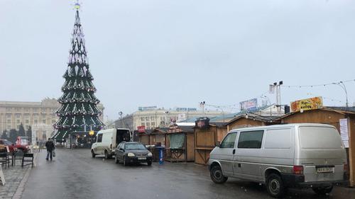 Локдаун добрался до центральной площади Харькова (фото)