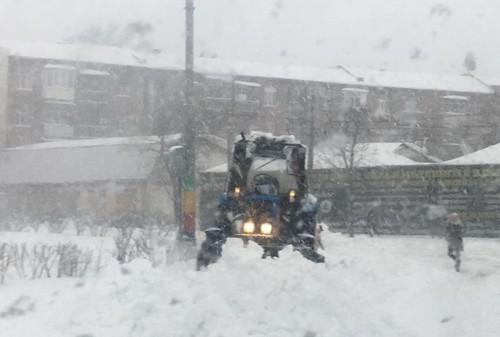 На Харьковщину надвигается снежная буря