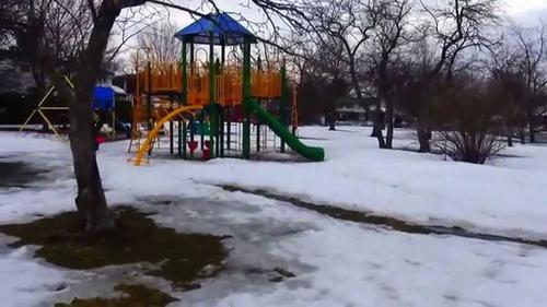 В Харькове на детской площадке обнаружили труп (видео)