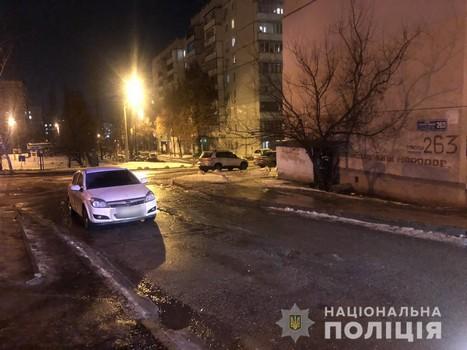 В Харькове ищут людей, которые видели, как травмировали женщину
