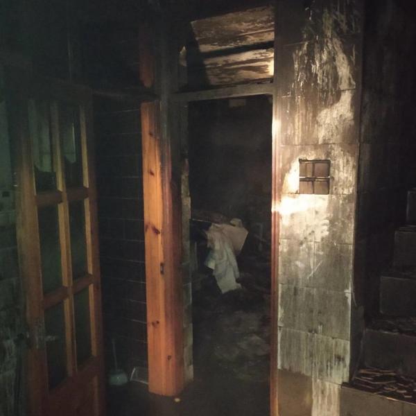 ЧП в Харькове: двухлетний ребенок с родителями задыхались в дыму (фото)