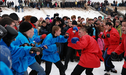 Невероятные крещенские забавы жителей Харькова