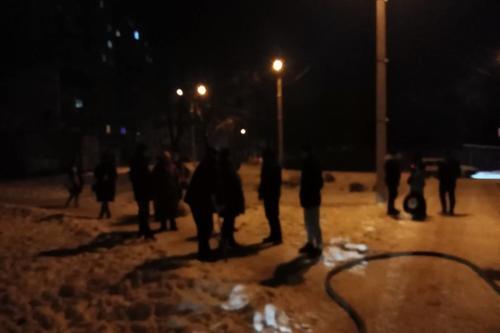 В Харькове людям пришлось экстренно покинуть свои квартиры (фото)