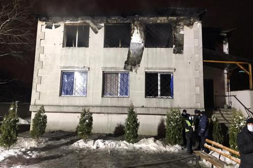 Гибель людей в харьковском хосписе: против пожарных открыли уголовное производство