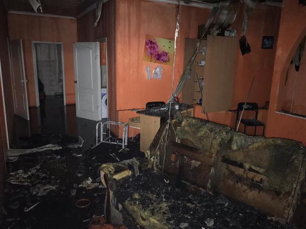 Пожар в харьковском доме престарелых: прокуратура сообщила о задержанных (фото)
