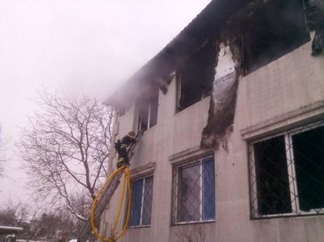 Пожар в харьковском доме престарелых: количество задержанных увеличилось