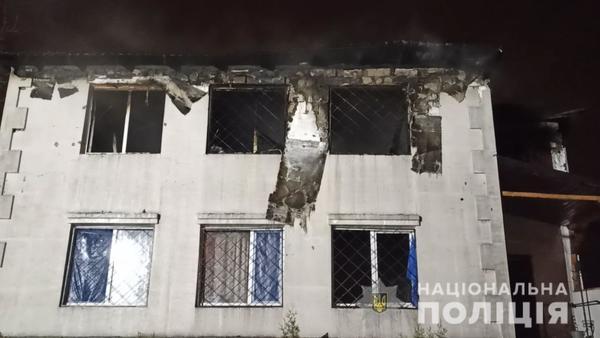 Пожар в харьковском доме престарелых: новая информация от полиции
