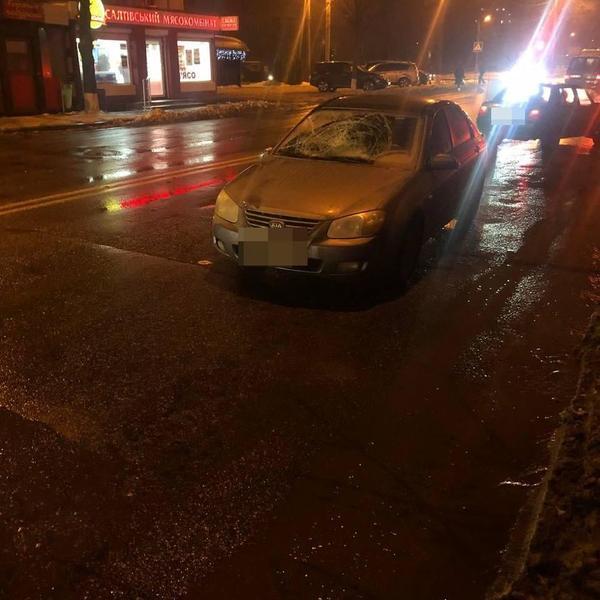 ДТП с пострадавшей женщиной-пешеходом в Харькове: информация полиции