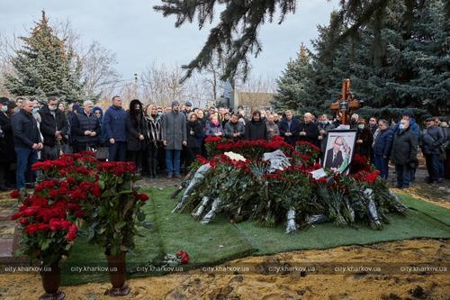 В Харькове почтили память Геннадия Кернеса (фото)