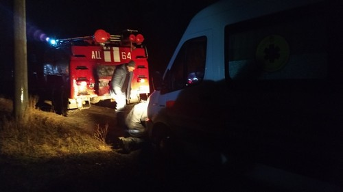 На Харьковщине спецавтомобиль угодил в грязевую ловушку (фото)