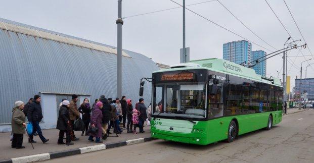 В Харькове существенно увеличится количество наземного транспорта