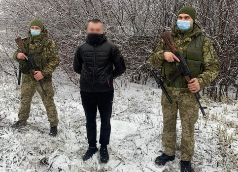 На Харьковщине устроили погоню за мужчиной, который пересек полстраны ради лучшей жизни
