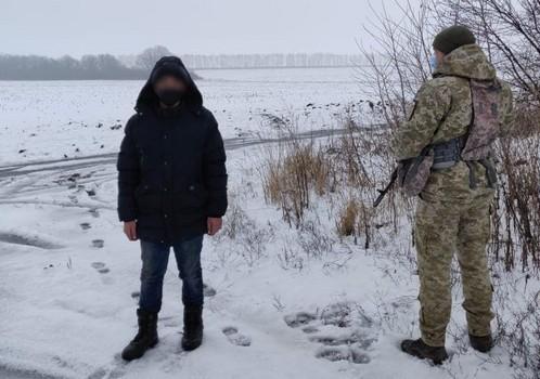 На встречу с отцом. На Харьковщине остановили парня, который пешком добирался в Москву