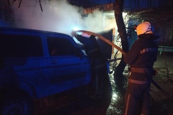 Житель Харьковщины ночью лишился автомобиля (фото, видео)