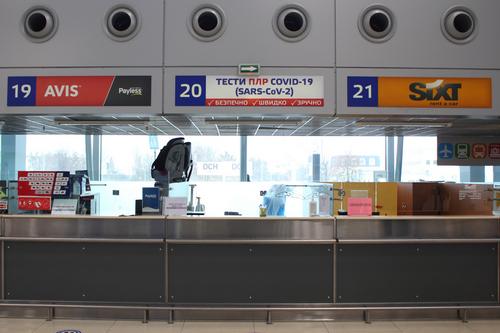 В Харьковском аэропорту из-за пандемии ввели дополнительную услугу