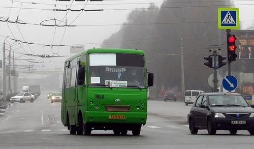 В Харькове коллеги спасли водителя маршрутки от больших потерь