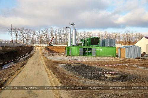 Под Харьковом активно идет строительство масштабного сооружения (фото)