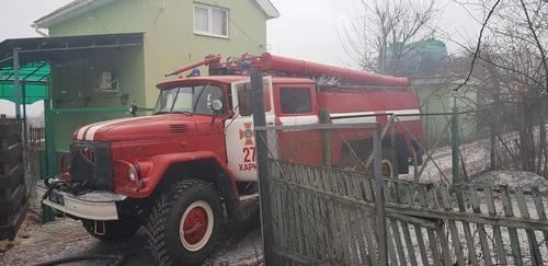 Житель Харьковской области ночью лишился дачи (фото)