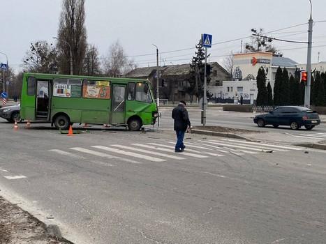 ДТП с харьковской маршруткой: в полиции озвучили подробности (фото)