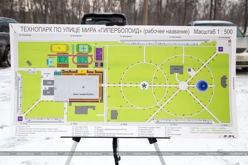 В одном из районов Харькова оборудуют парк с летним кинотеатром (фото)
