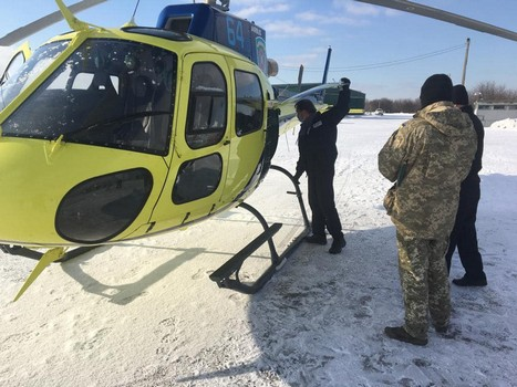 На Харьковщине особенных людей научат управлять вертолетом (фото)