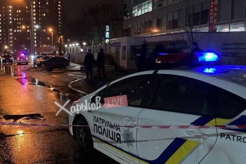 Убийство возле супермаркета в Харькове: личности стрелка и убитого установлены