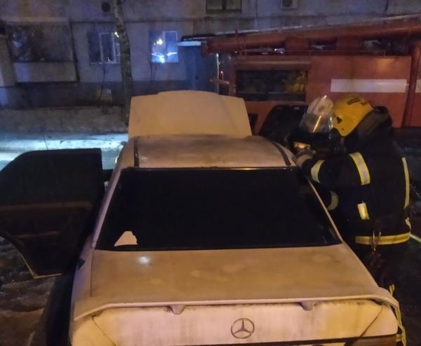 В Харькове мужчина лишился автомобиля (фото)