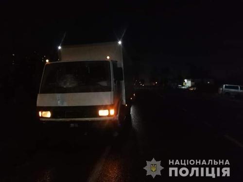 Страшная авария под Харьковом: пешеходу не оставили шансов (фото 18+, дополнено)