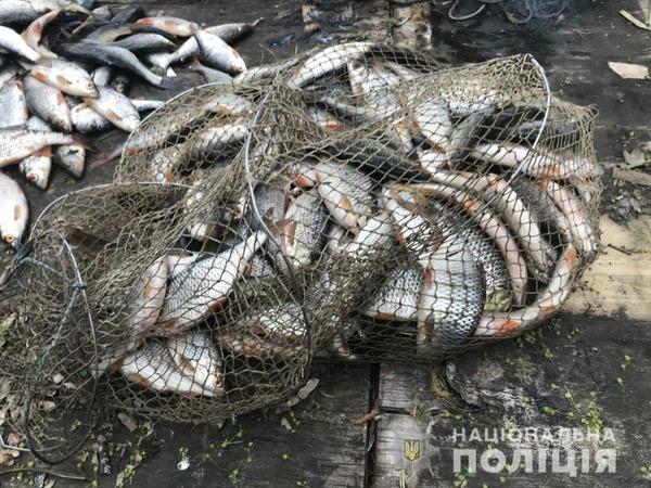 На Харьковщине мужчина из-за рыбы попал в большие неприятности (фото)